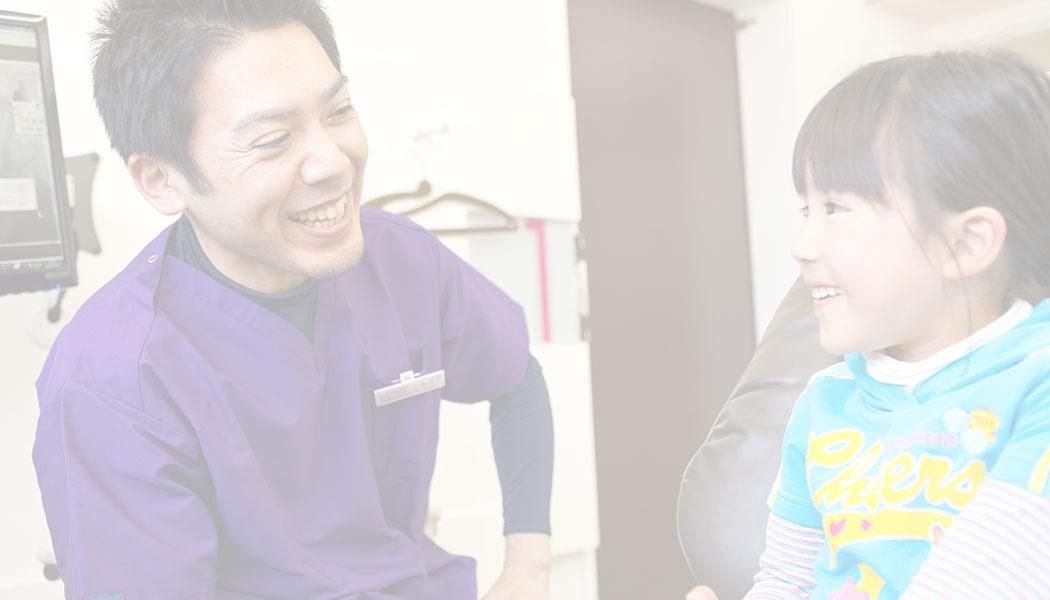 院長と小さな患者さん